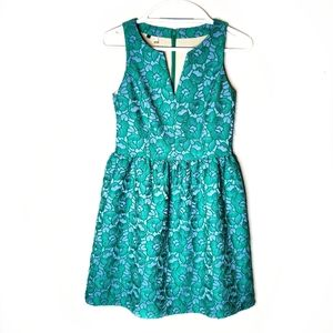 Anthropologie 4.Collective 4C Blue Floral Dress